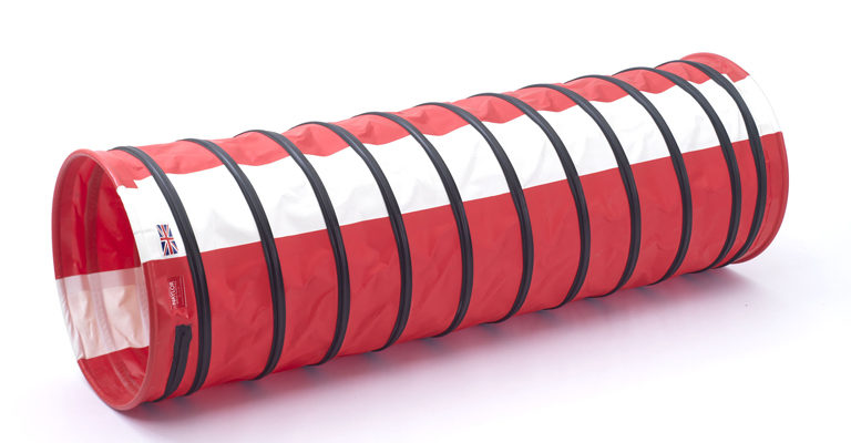 Medium Weight Dog Tunnels with Stripes