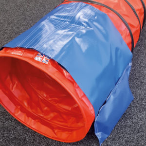 Adjustable sand bag with velcro pockets