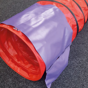 Standard sand bag with velcro pockets