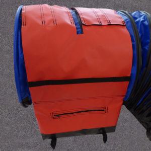 Non Slip Adjustable Sand Bag Straps with segment pockets