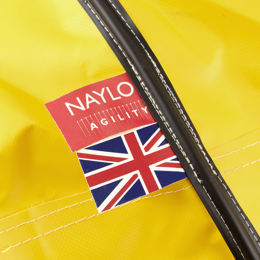 Yellow Welded Agility Tunnel - Union Jack Stitched